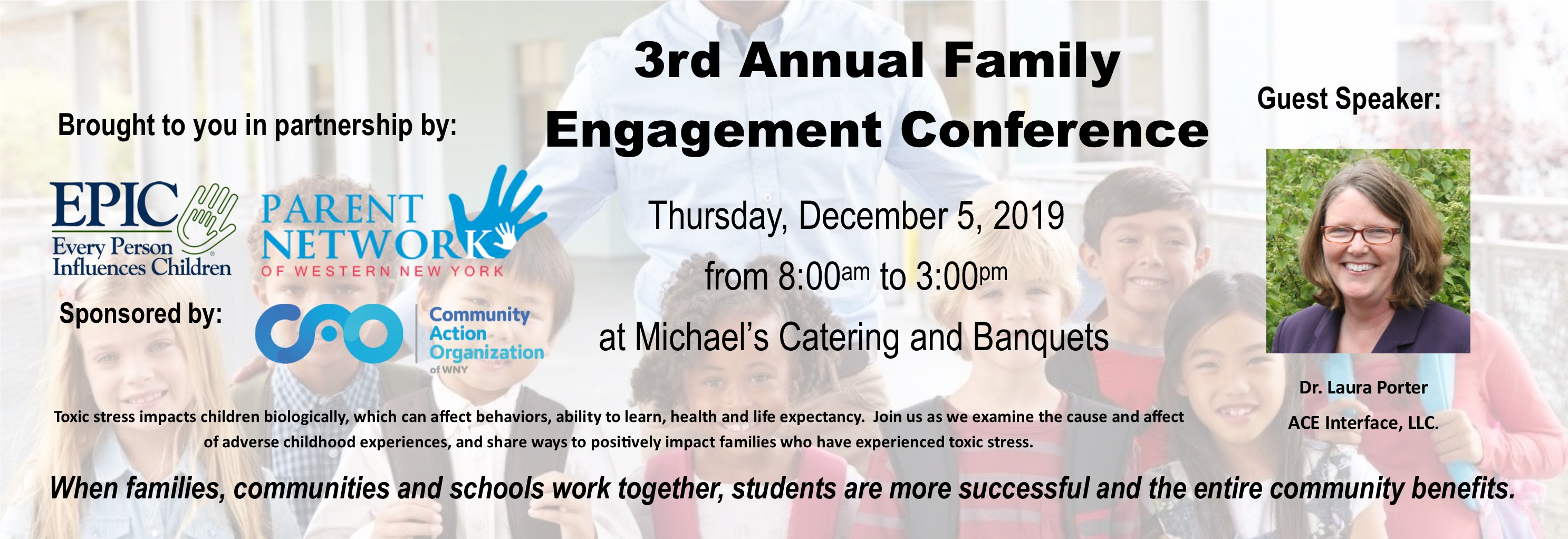 3rd Annual Family Engagement Conference Image